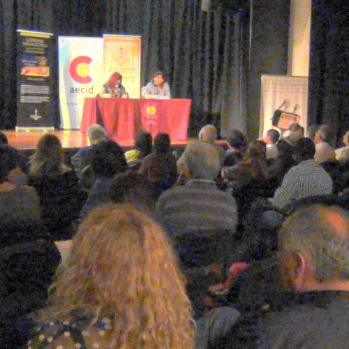 En el Centro Cultural de España, Lanzamiento del Libro La Historia Tañada en Cueca, 23 de Sep.2016