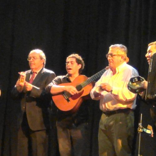 Los Chinganeros En el Centro Cultural de España,  23 de Sep.2016