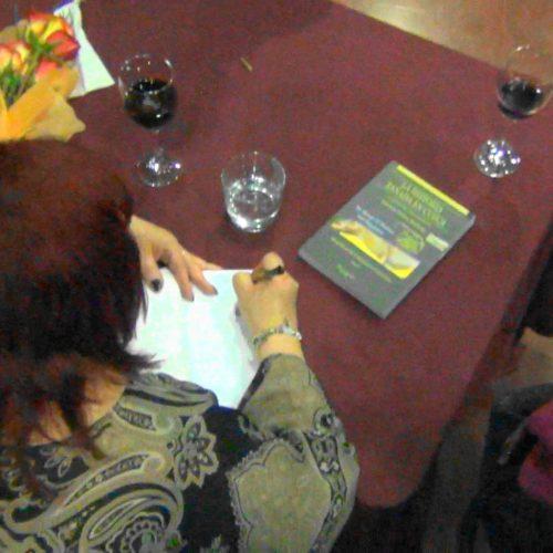 Autografiando Libros en el Centro Cultural de España,  23 de Sep.2016