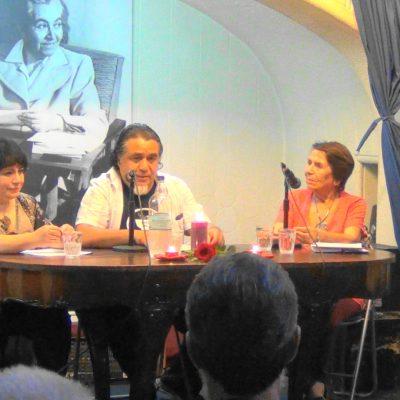 Patricia Tèllez, Alvaro Ricoe, Eliana Segura y Mario Lorca