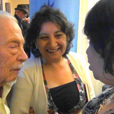 Con el Maestro Santiago Cavieres K.
